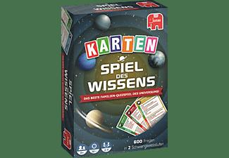 JUMBO Spiel des Wissens Kartenspiel Kartenspiele Mehrfarbig