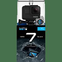 GOPRO HERO7 BLACk Bundle inkl. 32 GB microSDHC Speicherkarte Action Cam 4K (60fps), Touchscreen