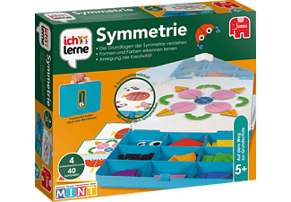 JUMBO Ich lerne Symmetrie Kinderspiele Mehrfarbig