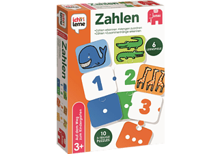 JUMBO Ich lerne Zahlen Kinderspiele Mehrfarbig