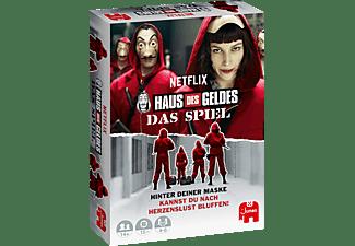 JUMBO Haus des Geldes- Das Spiel Kartenspiele Mehrfarbig