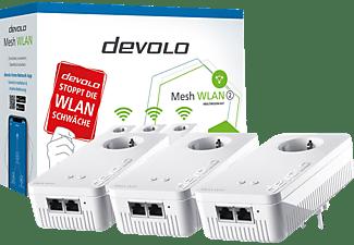 DEVOLO Mesh WLAN 2 Multiroom Kit, G.hn, 2.4GHz/5GHz, 2x RJ-45, 3er-Set (8760)