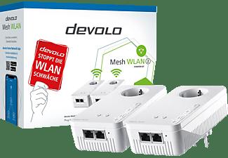 DEVOLO MESH WLAN 2 Starter Kit Mesh-Adapter 2400 Mbit/s Kabellos und Kabelgebunden