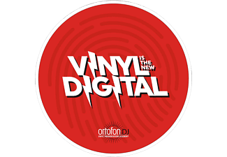 ORTOFON Slipmat Digital - Slipmat (Weiss/Rot)