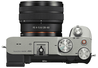 Cámara EVIL - Sony Alpha 7C + FE28-60MM F4-5.6, 24.3 MP, CMOS Exmor R, Visor XGA OLED, Negro