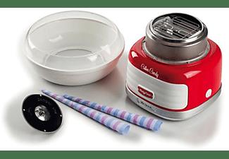 Maquina de algodón de azúcar - Ariete Cotton Candy 2973, 500 W, Rojo