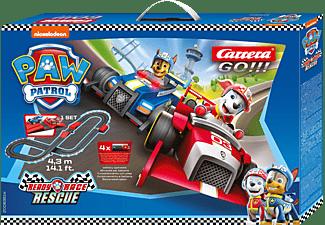 CARRERA (TOYS) PAW PATROL - READY, RACE & RESCUE Spielzeugrennbahn, Mehrfarbig
