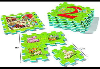 RAVENSBURGER Erstes Zählen und Bauernhoftiere Puzzle Mehrfarbig