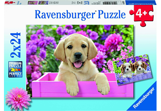 RAVENSBURGER Freunde mit Fell Puzzle Mehrfarbig
