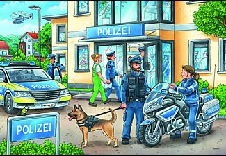 RAVENSBURGER Unterwegs mit Polizeimeisterin Hannah Puzzle Mehrfarbig