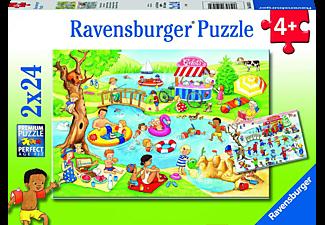 RAVENSBURGER Freizeit am See Puzzle Mehrfarbig