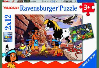 RAVENSBURGER Unterwegs mit Yakari Puzzle Mehrfarbig
