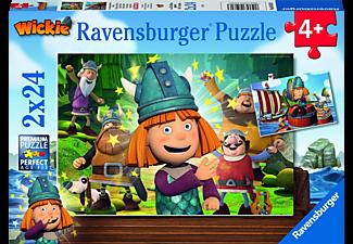 RAVENSBURGER Unser kluges Köpfchen Wickie Puzzle Mehrfarbig