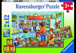 RAVENSBURGER Komm, wir gehen einkaufen Puzzle Mehrfarbig