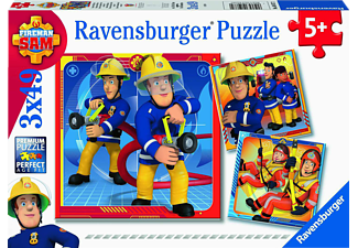 RAVENSBURGER Unser Held Sam Puzzle Mehrfarbig