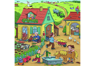 RAVENSBURGER Viel los auf dem Bauernhof Puzzle Mehrfarbig