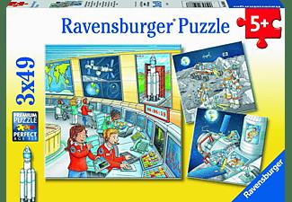 RAVENSBURGER Auf Weltraummission mit Tom und Mia Puzzle Mehrfarbig