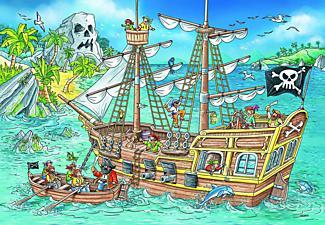 RAVENSBURGER Die Abenteuerinsel Puzzle Mehrfarbig