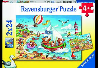 RAVENSBURGER Urlaub am Meer Puzzle Mehrfarbig