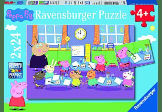 RAVENSBURGER Peppa in der Schule Puzzle Mehrfarbig