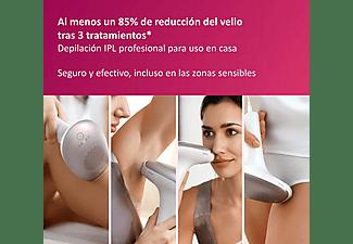 Depiladora IPL - Philips Lumea Advanced BRI923/00, Luz pulsada profesional, Cara y cuerpo, Sensor tono piel