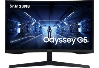 SAMSUNG C27G54TQWR 27 Zoll WQHD Gaming Monitor (1 ms Reaktionszeit, 144 Hz)