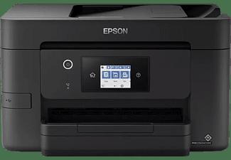 EPSON Multifunktionsdrucker WorkForce Pro WF-3825DWF, Farbe, Wi-Fi+Ethernet, Tinte, Schwarz (C11CJ07404)