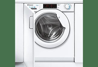 Lavadora integrable - Candy CBWO 49TWME-S, 9kg, 1400rpm, Inverter, WIFI, 9 ciclos rápidos, Blanco