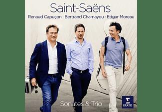 Renaud Capucon;Bertrand Chamayou;Edgar Moreau - Saint-Saens: Sonaten und Trio [CD]