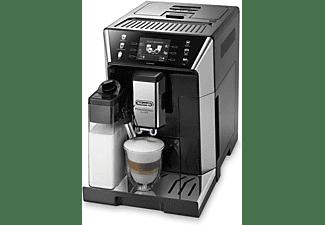 Cafetera superautomática - DeLonghi eCAM 550.55SB, Contenedor leche, 1450W, 2 tazas, Compatible con App, Negro
