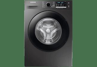 Lavadora carga frontal - Samsung WW90TA046AX/EC, 9 kg, 1400 rpm, 14 programas, EcoBubble,  Inox