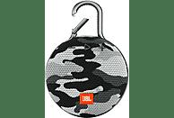 Altavoz inalámbrico - JBL Clip 3, 3.3W, Camuflaje