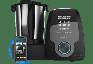Robot de cocina - Cecotec Mambo 10090, 30 funciones, 10 velocidades, Negro