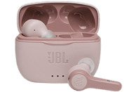 Auriculares inalámbricos - JBL Tune 215 TWS, True Wireless, Dual Connect, Rosa + Estuche de carga