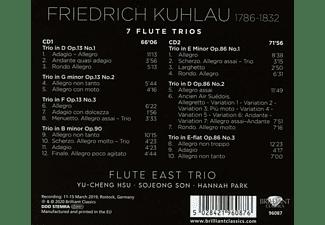 VARIOUS - KUHLAU: 7 FLUTE TRIOS  - (CD)