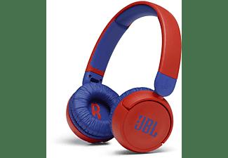 JBL JR 310 BT Kinder, On-ear Kopfhörer Bluetooth Rot
