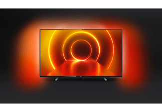 PHILIPS 58PUS7805/12 LED TV (Flat, 58 Zoll / 146 cm, UHD 4K, SMART TV, Ambilight, Saphi)