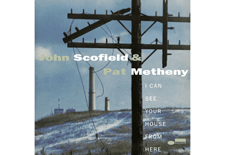 John Scofield, Pat Metheny, Blue Note Poet Series - I Can See Your House From Here  - (Vinyl)