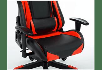 LC-POWER LC-GC-600BR Gaming Stuhl, Schwarz/Rot