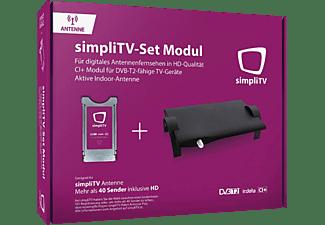 SIMPLITV CI+ Modul mit neuer simpliTV Antenne