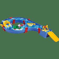 BIG AquaPlay Amphie Set Wasserbahn Blau