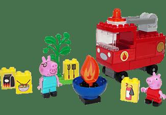 BIG Bloxx Peppa Pig Feuerwehrauto Bausteine, Mehrfarbig