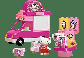 BIG Bloxx Hello Kitty Eiswagen Bausteine, Rosa