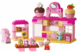 BIG Bloxx Hello Kitty Bäckerei Bausteine, Rosa