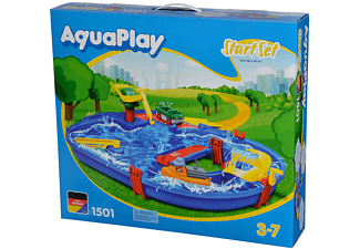 BIG AquaPlay StartSet Wasserbahn Blau