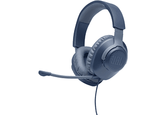 JBL Quantum 100, Over-ear Gaming Headset Blau