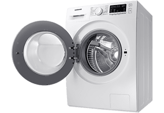 Lavadora secadora - Samsung WD80T4046EE/EC, 8 kg lavado, 5 kg secado, 1400 rpm, Blanco