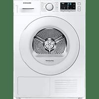 Secadora - Samsung DV80TA020TE, Independiente, 8 kg, 14 programas, Filtro 2 en 1, OptimalDry, Blanco