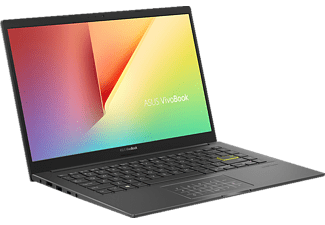 ASUS Vivobook S14 S433EA-EB160T, Notebook mit 14 Zoll Display, Intel® Core™ i7 Prozessor, 8 GB RAM, 512 GB SSD, Intel® Iris™ Plus Graphics, Indie Black