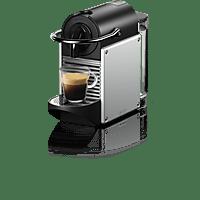 DE LONGHI Nespresso Kaffeemaschine Pixie Silber EN124.S